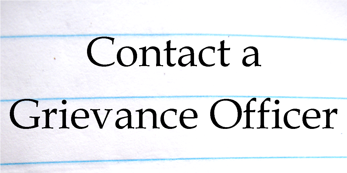 Click here to contact a grievance officer