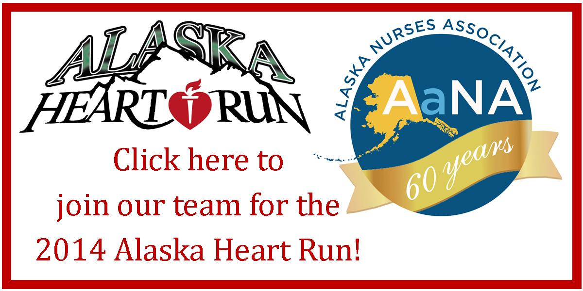 Click here to join our team for the 2014 Alaska Heart Run!